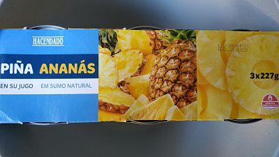 etiquetas de alimentos piña enlatada 1
