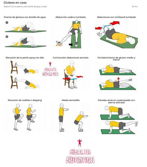 gluteos rutina de ejercicio para mujeres 1
