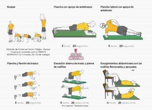 rutina adelgazar abdomen verano 1