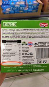 hummus mercadona aguacate etiqueta 1